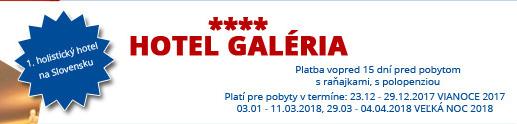 Hotel Galéria**** – 1. holistický hotel na Slovensku