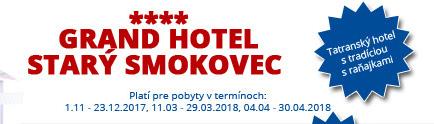 Hotel Starý Smokovec**** – Tatranský hotel s tradíciou