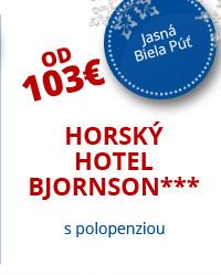 Horský Hotel Bjornson***