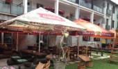 terasa - reštaurácia